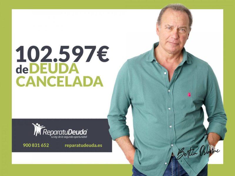 Repara tu Deuda abogados cancela 102.597? en San Vicente del Raspeig con la Ley de Segunda Oportunidad